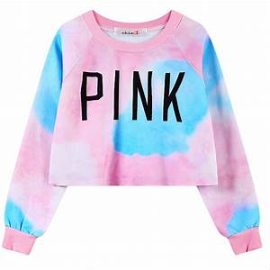 2016 hot sexy crop women pink hoodies pink letters printed for Letters for sweatshirts