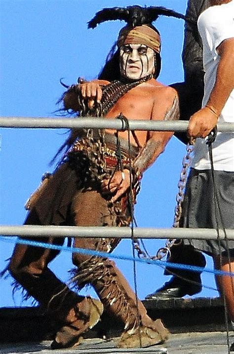 original tonto lone ranger look johnny depp as tonto in the lone ranger reel with