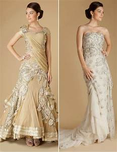 Absolutely gorgeous by indian wedding designers on for Indian fusion wedding dress