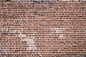 Weathered Red Brick Wall Mural Murals Wallpaper