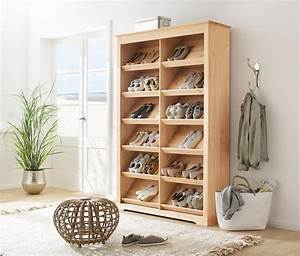 Schuhschränke Für Viele Schuhe : home affaire schuhregal lauma aus massiver kiefer online kaufen otto ~ Markanthonyermac.com Haus und Dekorationen