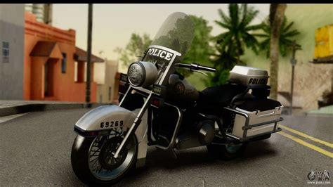 Police Bike Gta 5 For Gta San Andreas