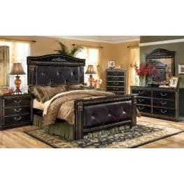 coal creek bedroom set coal creek mansion bedroom set from b175