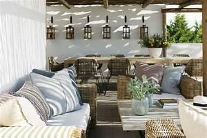 Terrassen Deko Ideen : 60 ideen wie sie die terrasse dekorieren k nnen ~ Buech-reservation.com Haus und Dekorationen