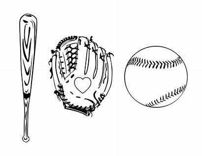 Coloring Baseball Printable