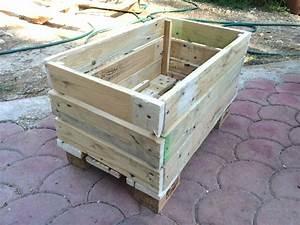 Palette De Bois : fabriquer une jardiniere en bois de palette maison ~ Premium-room.com Idées de Décoration
