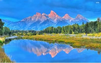 Teton Grand Park National Wallpapers Pretty Wyoming