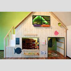 Hochbett Haus Ausgezeichnet Oben Schlafen Unten Spielen