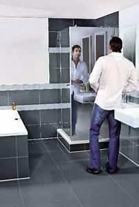 Paroi De Douche Miroir : la paroi de douche libre air et la paroi miroir deux ~ Dailycaller-alerts.com Idées de Décoration