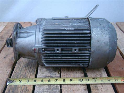 Siemens Electric Motors by Siemens Electric Motor 3ph 230 460v 3 7kw 1la5107 4ba99 Z