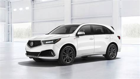 2019 Acura SUV : 2019 Acura Mdx Debuts With Nicer Interior, Sporty A-spec Trim