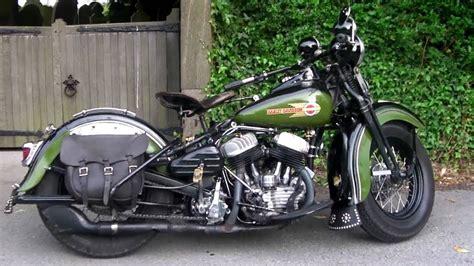 Vintage Harley-davidson Wl45