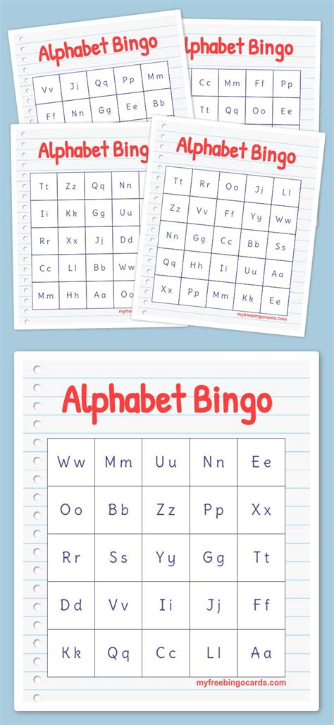 printable  virtual bingo cards sight word