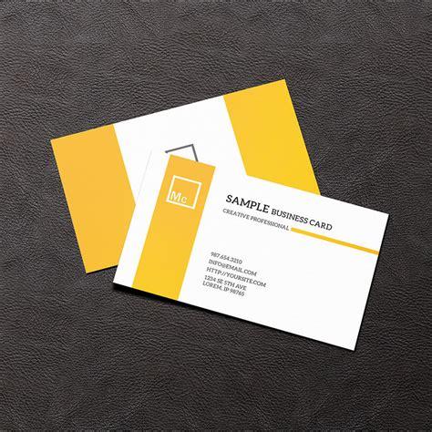 business card mockups psd ai design trends