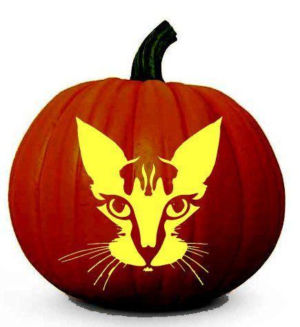 cat pumpkin ideas free halloween cat face printable pumpkin carving stencil halloween pumpkin carving ideas