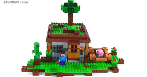 lego minecraft   night review set