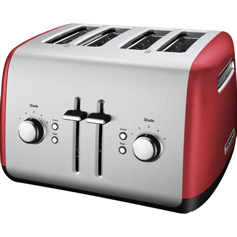 Toaster Photo by Kitchenaid Kmt4115er Empire Four Slice Toaster With