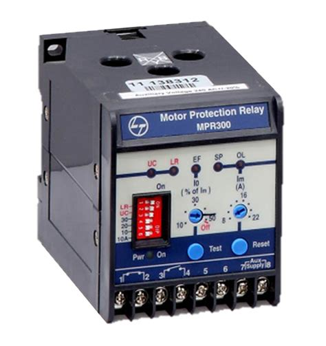 Electric Motor Relay by Mpr300 Mini Motor Protection Relay Electrical