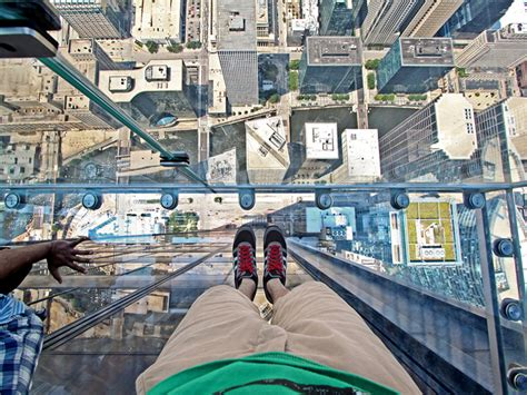 Willis Tower Observation Deck Parking by Skydeck Chicago Downtown Chicago Loop