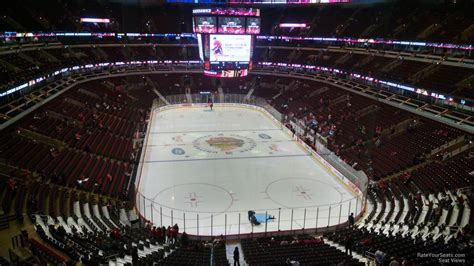 united center section  chicago blackhawks rateyourseatscom
