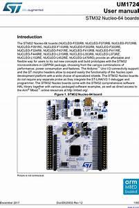 Stm32 Nucleo 64 Boards Um1724 User Manual