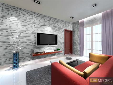 Living Room Wall Tile Designs by Textured High Grade Polymer Glue On Wall 3d Tiles