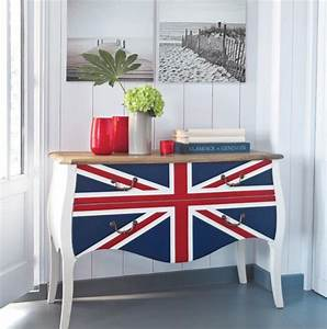 union jack interior decor ideas idesignarch interior With kitchen colors with white cabinets with union jack wall art