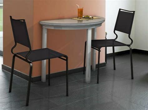 table de cuisine petit espace table murale pour une cuisine plus sympa