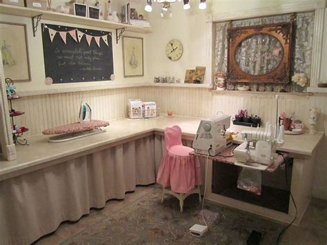 Cute Sewing Room Love The Picture Frame In The Window