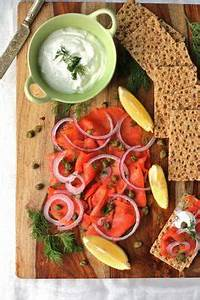 Smoked Salmon Hors d Oeuvres Platter