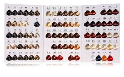 hair color number chart light copper 8 46 bellissimo