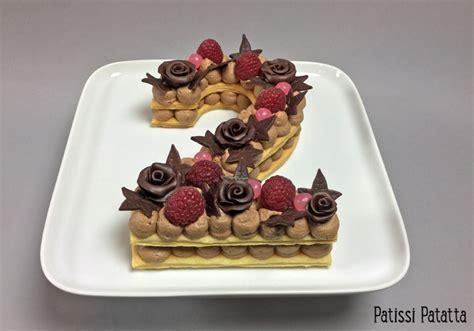 Si vous êtes plutôt vanille que chocolat? patissi patatta: Number cake au chocolat praliné