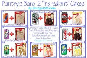 Soda Pop with Cake Mix Recipes