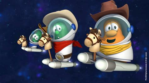 ultimate veggietales web site asteroid cowboys