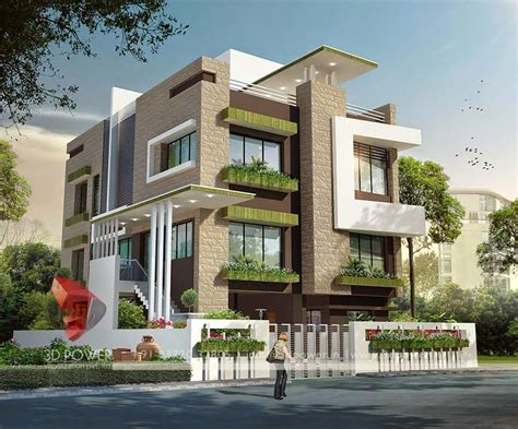Home Design For Outside by 3d Modern Exterior House Designs 5 Design A House