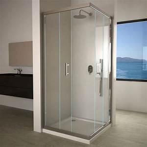 Cabine De Douche 90x90 : cabine de douche coulissante water 90x90 cm ~ Dailycaller-alerts.com Idées de Décoration