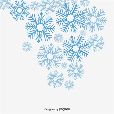Blue Snowflake Background Clipart by Vector Blue Snowflake Blue Vector Snowflake Vector