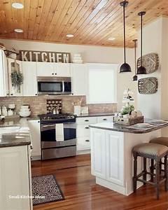 37, Best, Farmhouse, Wall, Decor, Ideas, For, Kitchen