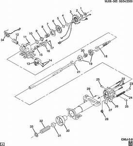 1993 Chevrolet Cavalier Tilt Steering Column Repair