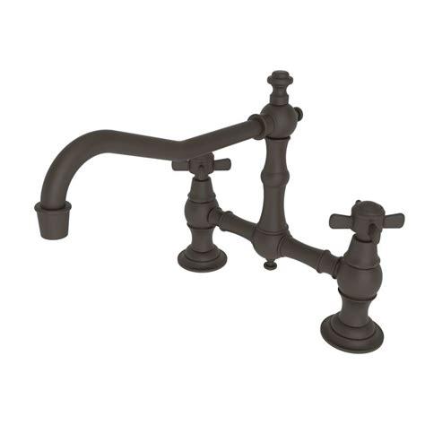 newport brass kitchen faucet faucet com 945 10b in rubbed bronze by newport brass