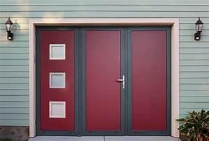 Portes a vantaux dans les portes et portails gypass for Porte de garage coulissante et porte d interieur double vantaux