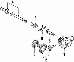 Ford Bronco Axle Shafts  Manual  Left  Hubs