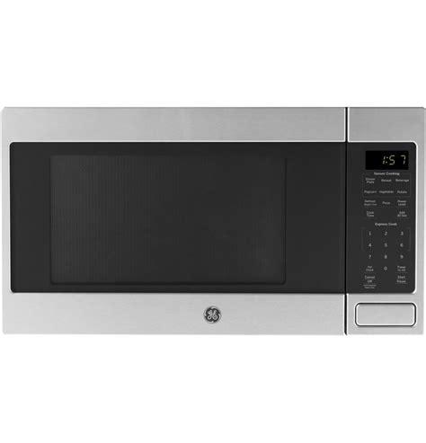 ge jesbmts  cu ft countertop microwave oven