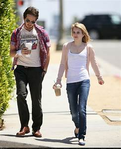 Michael Angarano & Emma Roberts out and about (PHOTOS ...