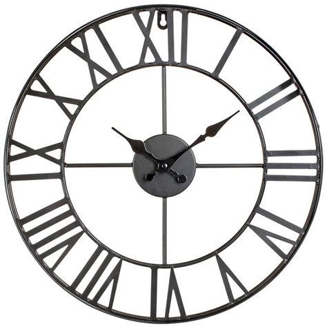 horloge murale geante pas cher maison design bahbe