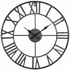 Horloge En Metal : horloge murale design vintage en m tal 40 cm ~ Teatrodelosmanantiales.com Idées de Décoration