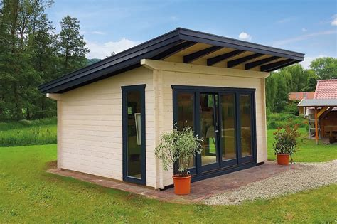 Individuelles Gartenhaus Aus Holz Kaufen  Holzzentrum Schwab