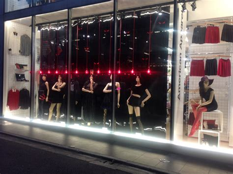 american apparel halloween windows  lena shockley japan