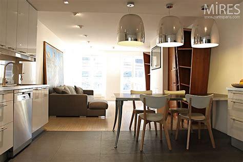 salon parquet cuisine carrelage cuisine carrelage et salon parquet