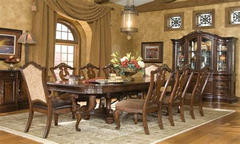 dining room sets  upholstered chairs tuscan dining
